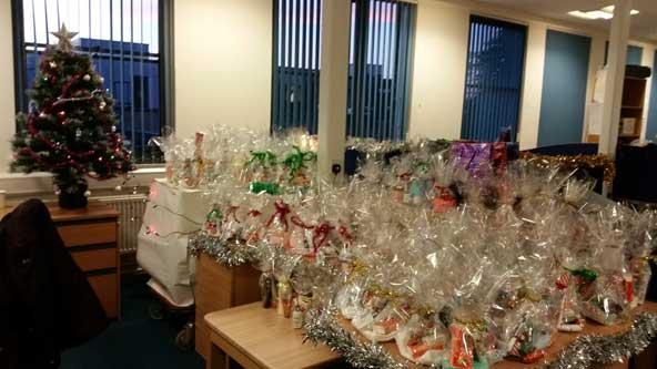 Generous Staff Donate Christmas Gifts